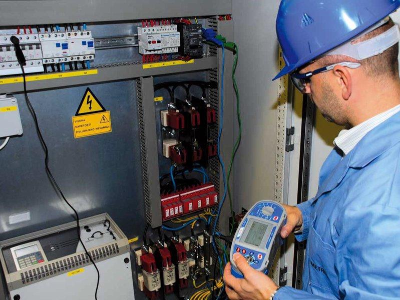 Измерение сопротивления изоляции в электроустановках